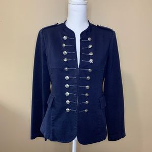 Jackets & Blazers - Mark by Avon Navy Blue Military Jacket